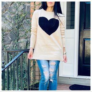 Love ❤️ Heart chic sweater